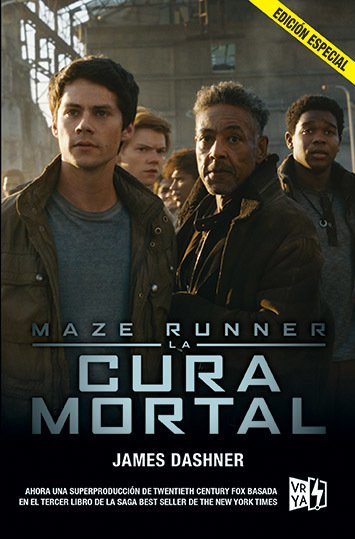 Maze Runner. La cura mortal - James Dashner - Libro (edición especial)