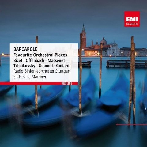Barcarole - Favourite Orchestral Pieces - Dir. Sir Neville Marriner - CD