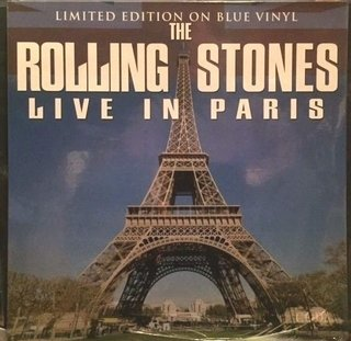 The Rolling Stones - Live in Paris - Limited Edition on Blue Vinyl - Vinilo