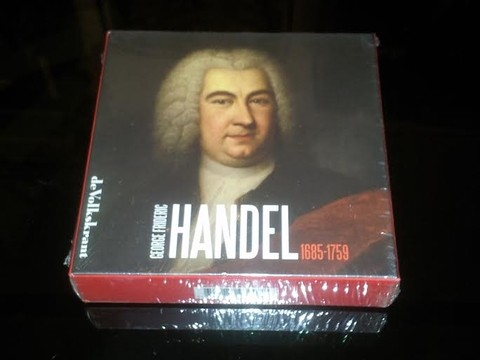 George Frideric Handel 1685-1759 (Box set 8 CDs)