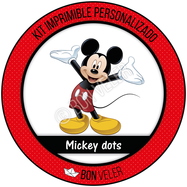 MICKEY MOUSE DOTS - comprar online