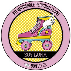 SOY LUNA patines