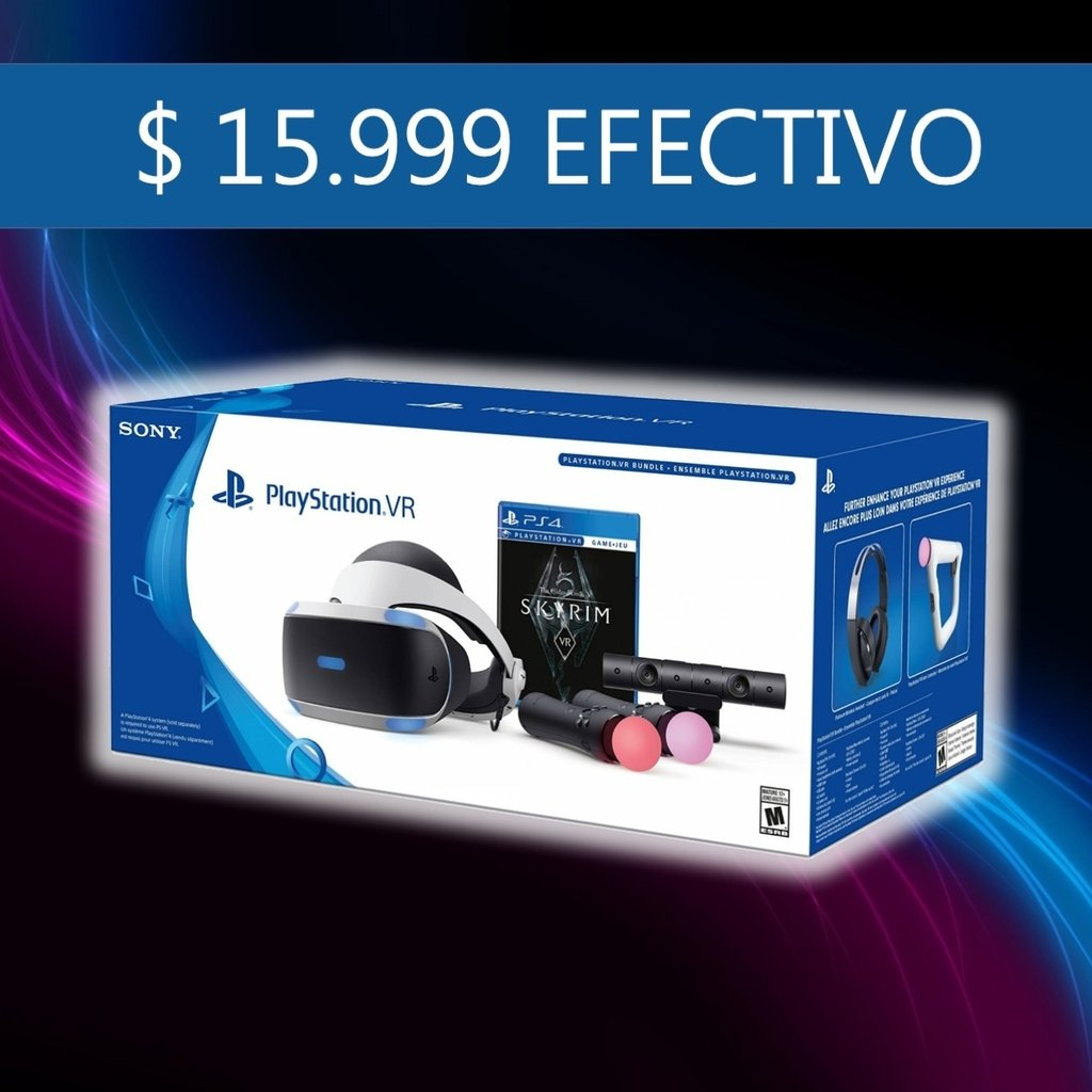 Kit De Realidad Virtual Para Playstation 4