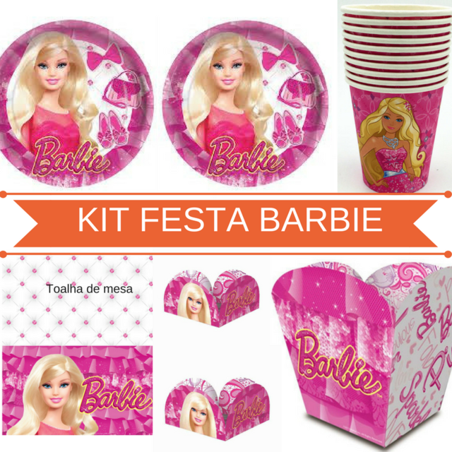 Kit festa Barbie