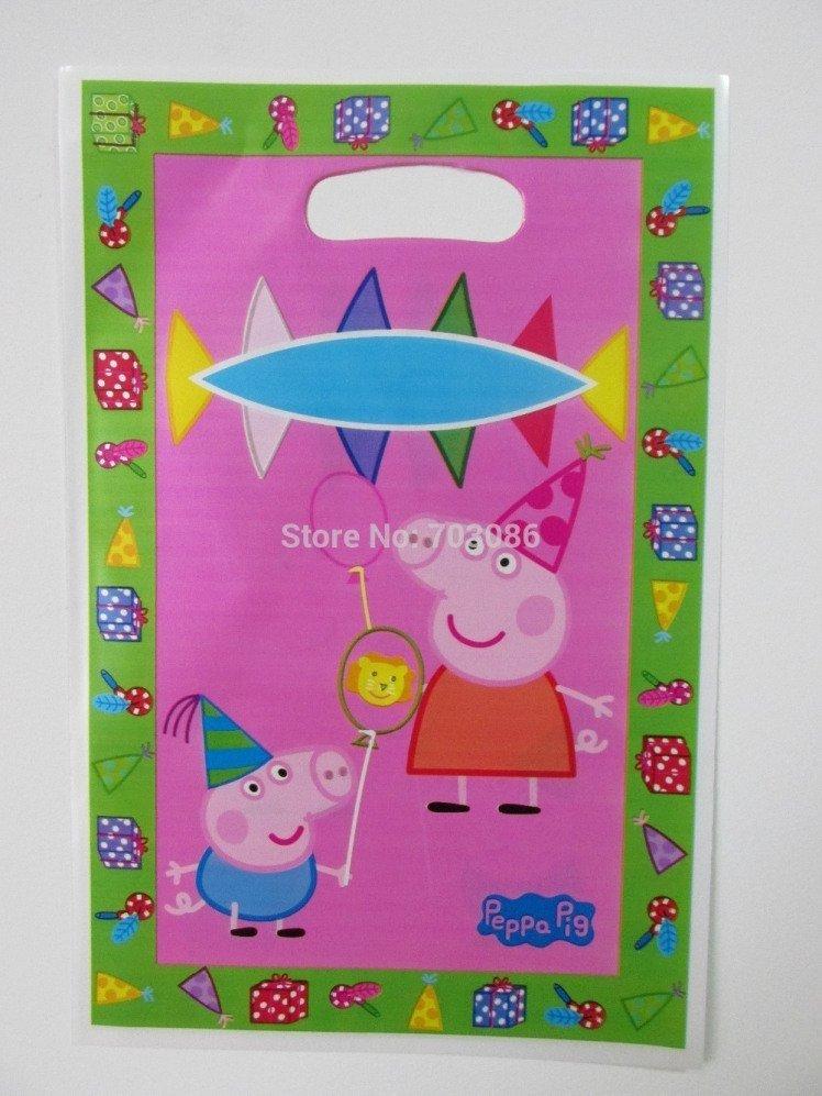 919b7bec2 Sacola surpresa Peppa Pig c/ 10 unids