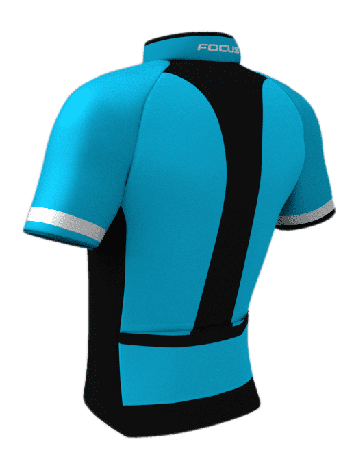 Camisa Focus Race Blue - Parque Esportes Bike Shop