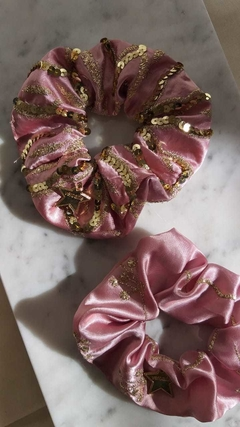 PACK SCRUNCHIES DELUXE ROSA - comprar online