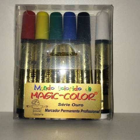 Canetas Color Magic Cores da Moda - 6 cores