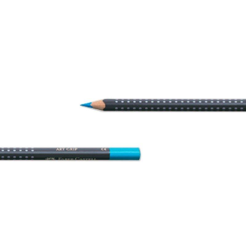 Lápis de Cor Faber Castell Art Grip Permanente Estojo 24 Cores