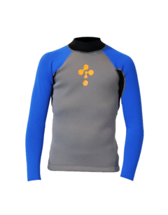 Remera Neoprene Con Dryskin 1,5mm Thermoskin Niño - Thuway