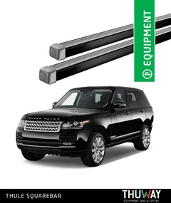 Barras Portaequipaje Thule SquareBar Land Rover Discovery III y IV Punto Fijo - Thuway