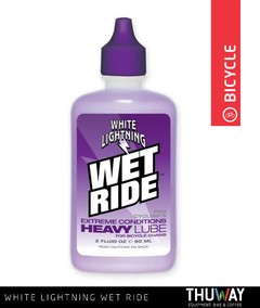 Lubricante White Lightning Wet Ride 2 oz - Thuway