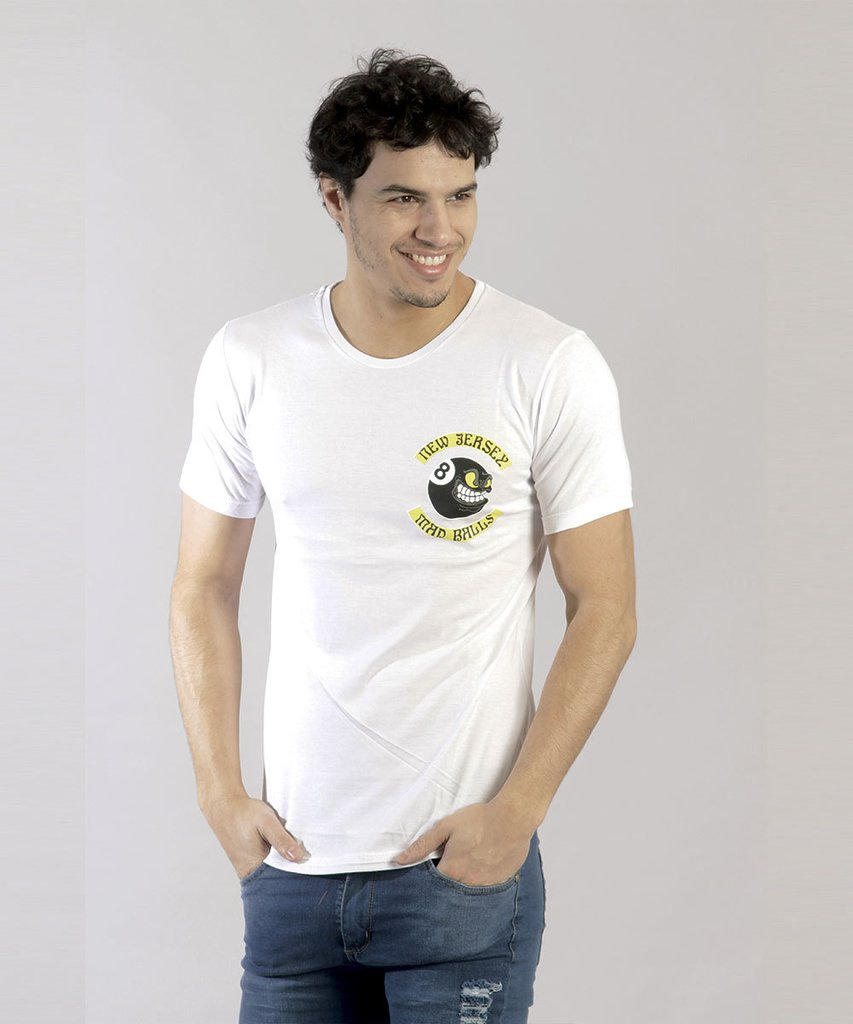 REMERA BALL BLANCO