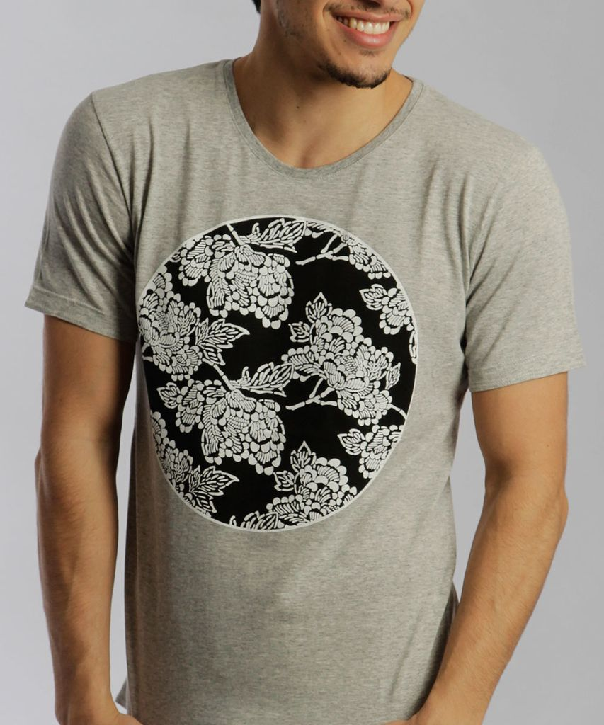 REMERA WORLD GRIS