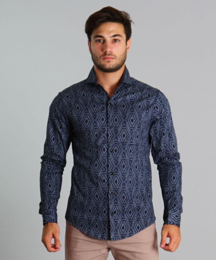 CAMISA DIAMOND AZUL