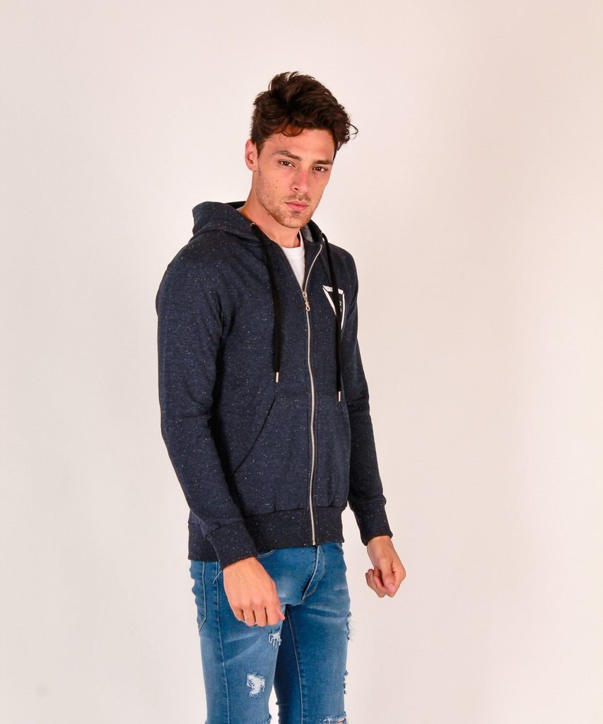 CAMPERA RAW AZUL