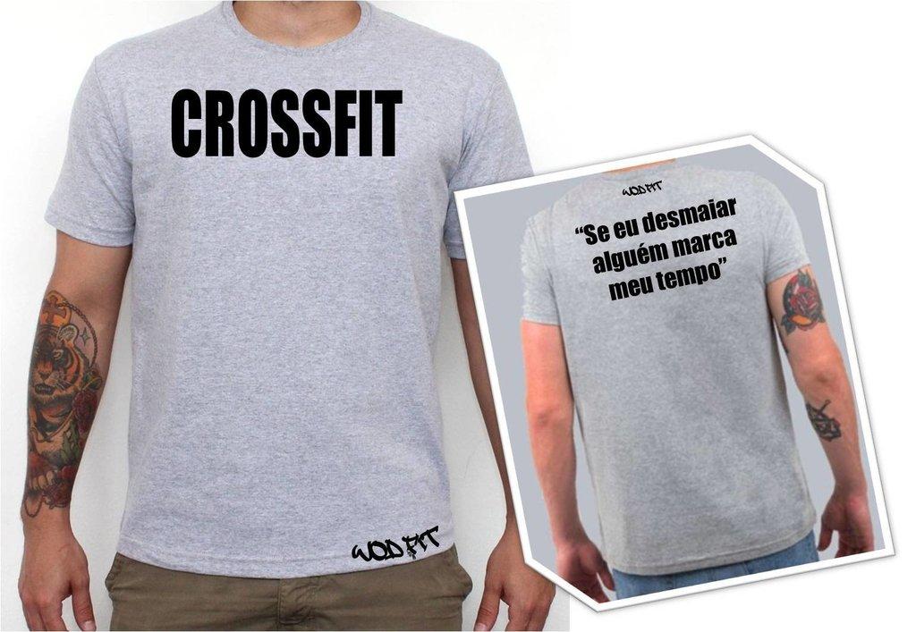Camiseta Crossfit Frase Comprar Em Wod Fit Store