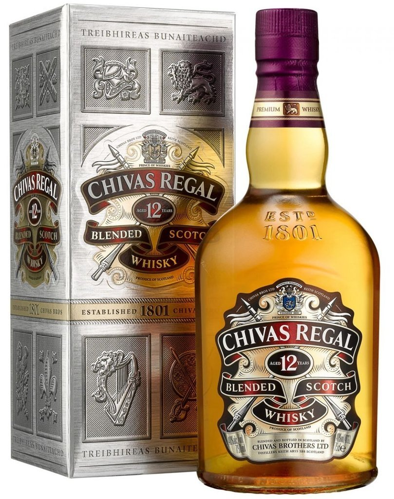 WHISKY CHIVAS REGAL - AGED 12 YEARS