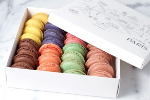 Carte de Paris - 32 macarons