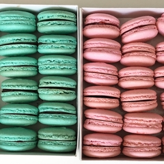 Carte de Paris - 30 macarons