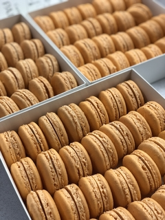 Carte de Paris - 30 macarons en internet