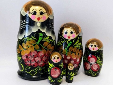 Matrioshka negra