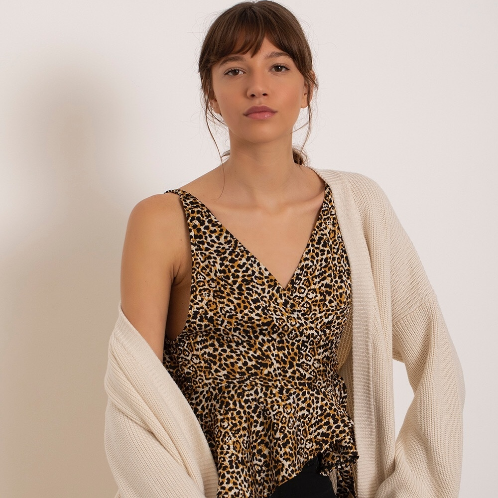 Top Benny animal print