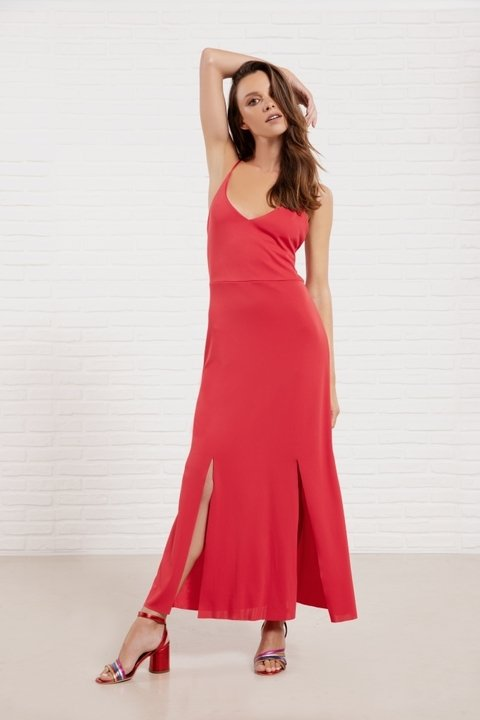 Maxivestido Flash rojo