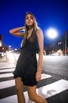 Vestido Carol Summer negro on internet