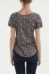 Remera Daria full print marron en internet