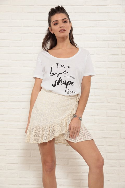 Remera I'm in love ...