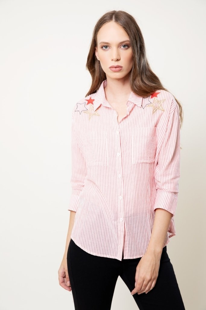 Camisa Beacon rojo