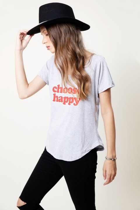 Remera Choose Happy