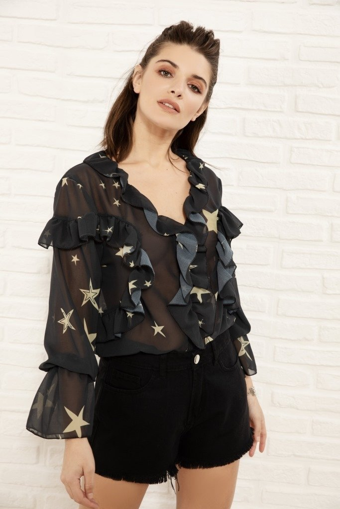 Blusa Wonder estampada