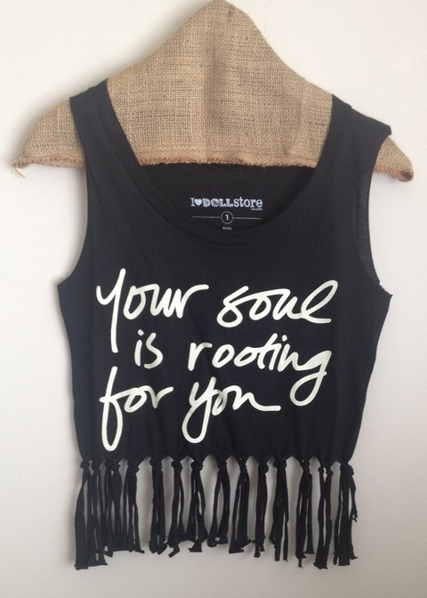 Musculosa Alessa Your Soul
