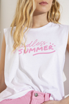 Musculosa Endless summer rosa - Doll Store