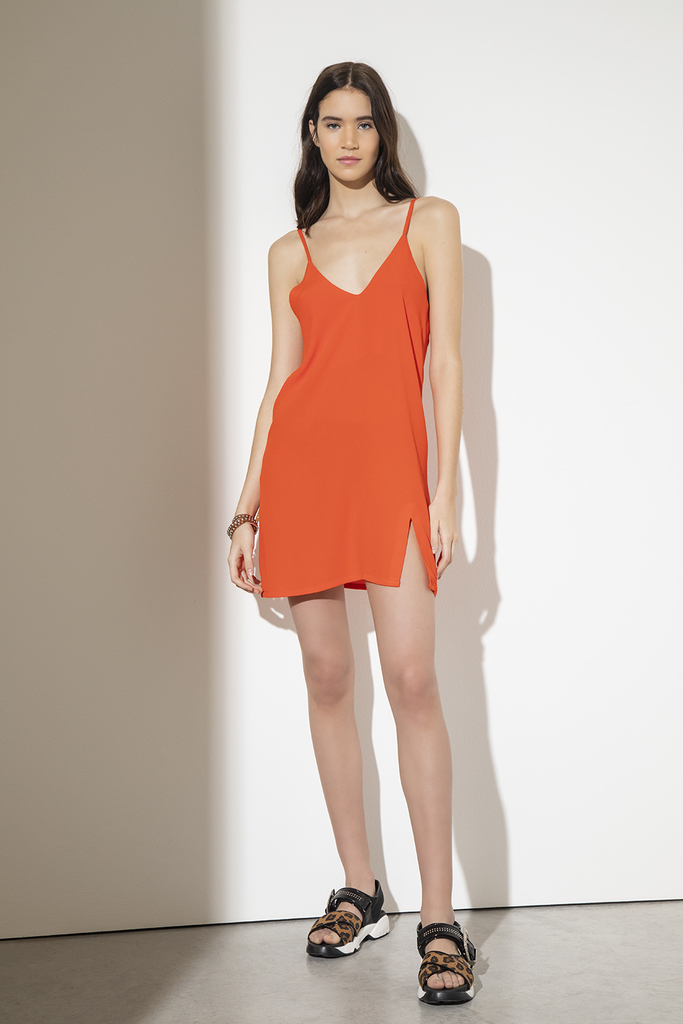 Vestido Resurection coral