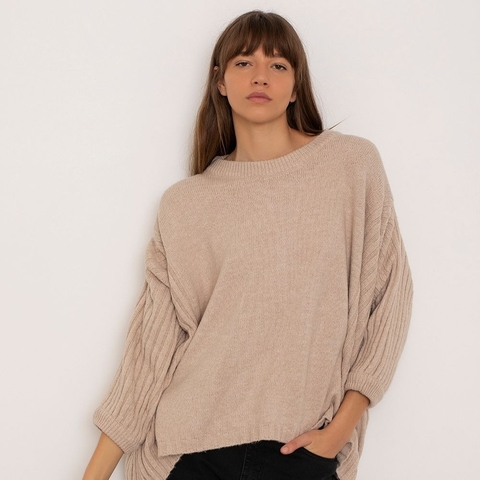 Sweater Aviador crudo