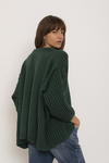 Sweater Aviador verde - Doll Store