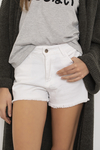 Short Super blanco en internet