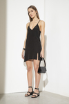 Vestido Resurection negro - comprar online