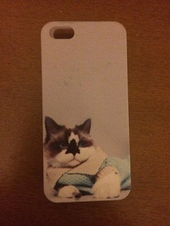 Capinha gato iphone 5/5s
