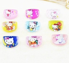 Anel INFANTIL  Hello Kitty