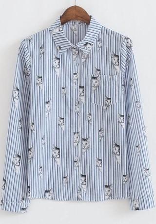 Camisa gato Caracol