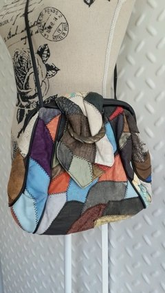Cartera patchwork 80s