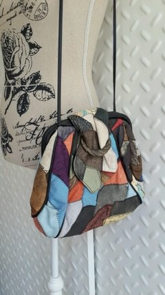 Cartera patchwork 80s en internet
