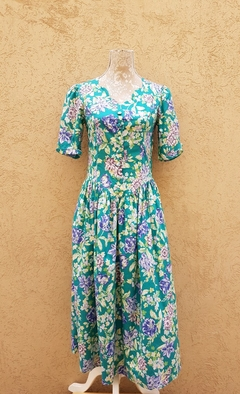 Vestido flores Laura Ashley 80s en internet