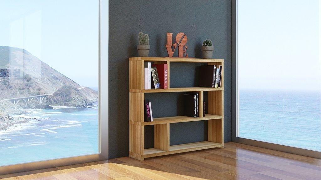 Biblioteca Mediana en madera maciza Paraiso d83fe447c0da