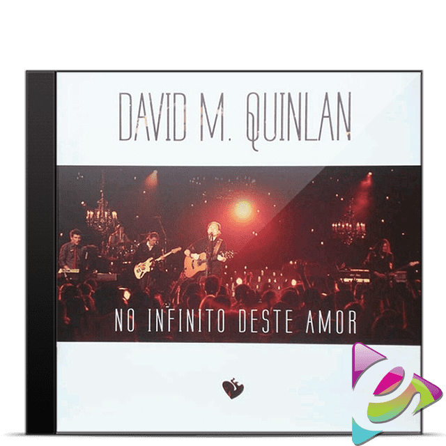 CD DAVID QUINLAN NO INFINITO DESTE AMOR CÓD. 11745