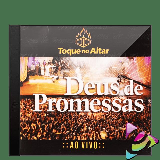 cd toque no altar deus de promessas ao vivo